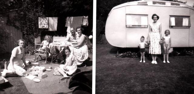 caravan Bowleaze Cove 1951